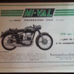 Catalogo produzione moto 1954